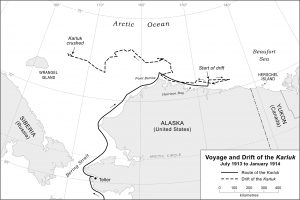 Voyage and drift of the Karluk