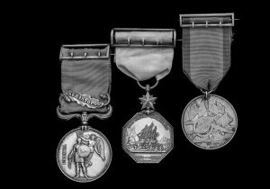 The medals of Frederick John Krabbé